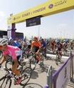 Алматыда Tour of Almaty веложарысы өтіп жатыр