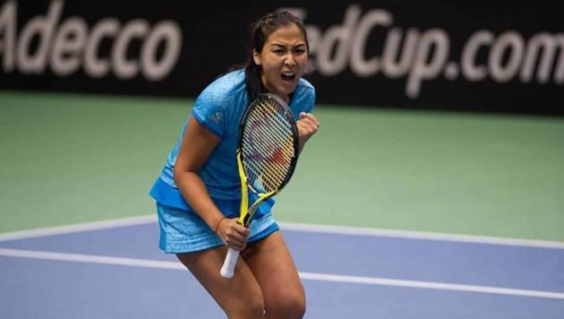 Олимпиада чемпионын ұтқан Зарина Дияс Осакадағы турнирдің екінші айналымына шықты
