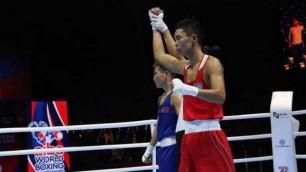 Қазақ боксшысы ӘЧ-де Олимпиаданың күміс жүлдегерін жеңді