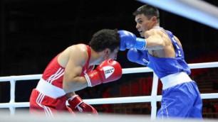 Қазақстан құрамасының бір боксшысы 2019 жылғы әлем чемпионатынан шығып қалды
