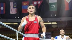 Қазақстандық Азия чемпионы бокстан әлем біріншілігінің жартылай финалына шықты