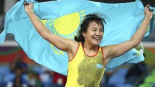 Қазақстан құрамасы әйелдер күресінен Олимпиадаға екінші лицензия жеңіп алды