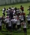Қазақстан мен Грузия арасындағы америка футболынан матчтің соңы жаппай төбелеспен аяқталды