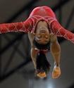 Әлем біріншілігінде гимнастшы қыз ерлер рекордын бұзды