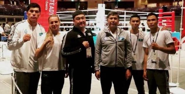 Қазақстан боксшылары Токидодағы турнирде екі алтын жеңіп алды