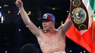 """WBO президенті """"Канело"""" титулдан бас тартады дегенге қатысты жауабын айтты"""