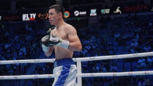 Жеңілмеген қазақстандық боксшының миллион төленетін турнирден неге бас тартқаны белгілі болды
