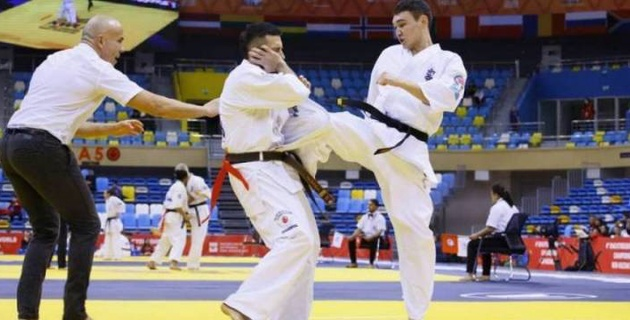 Киокушинкайдан әлем чемпионатында үш каратешіміз әлемі чемпионы атанды