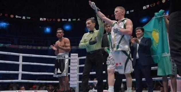 27 жеңісі бар аргентиналықтан басым түскен қазақстандық боксшы WBC жүйесіндегі титулын қорғап қалды