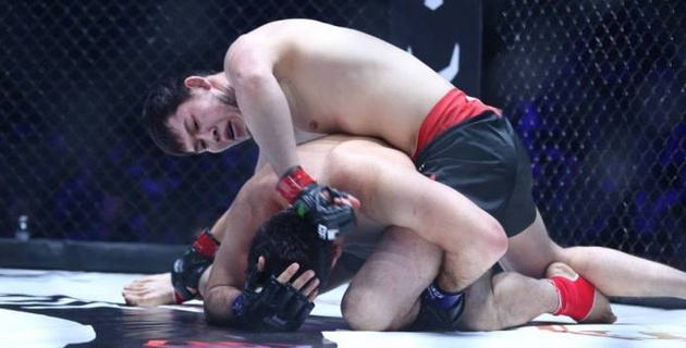 Хабибтің қатысуымен өткен турнирде қазақ файтер GFC чемпионы атағын жеңіп алды