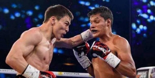 Жүкембаев мексикалық боксшыны нокаутқа түсірген сәтінің видеосы жарияланды