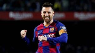 """""""Барселона"""" сапында 50-ші жеңіске жеткен Месси Испания турнирлерінде 500 гол салды"""