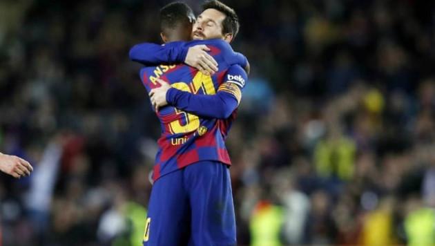 """Қақпашының бұтынан дубль. """"Барселонаның"""" 17 жастағы ойыншысы примера тарихына кірді"""