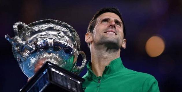 Australian Open жарысын жеңген Новак Джокович жаңа рекорд орнатты