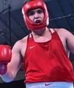 Аса ауыр салмақтағы қазақ боксшы қарсыласына берілуден басқа амал қалдырмады
