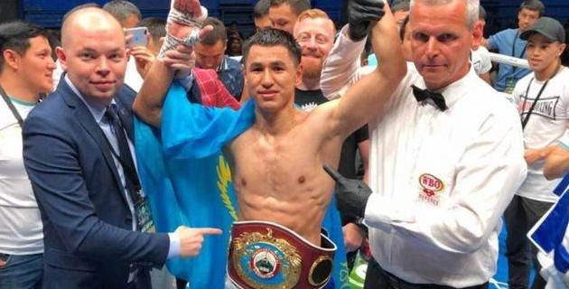 17 нокауты бар қазақстандық боксшының титул жеңіп алғаннан кейінгі жекпе-жек уақыты айтылды