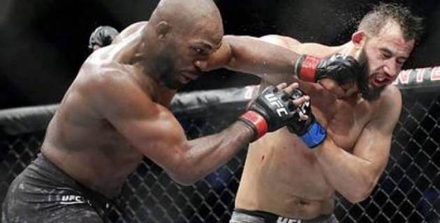 UFC үздік файтері қарсыласын зорға жеңді