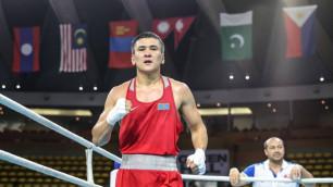 Азия чемпионы Тұрсынбай Құлахмет кәсіпқой боксқа ауысты