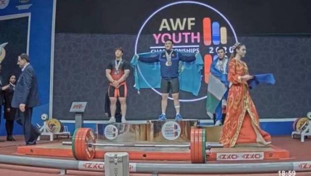 Қазақстан жастар арасындағы Азия чемпионатында бесінші алтын жеңіп алды