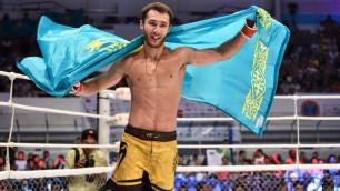 Қазақстандық үшінші файтер UFC-мен келісімшартқа қол қойды