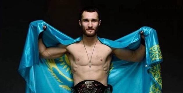 Қазақстандық файтер UFC-мен келісімшарт туралы мәлімдеме жасады
