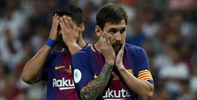 """45 жылда бірінші рет. """"Барселона"""" Ла Лиганың екі матчінде де """"Реалға"""" гол сала алмады"""