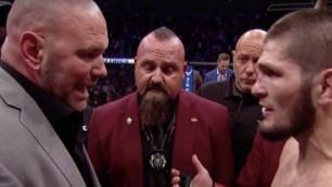 Хабиб UFC басшысымен жанжалдасып қалды. Оқиғаның мән-жайы айтылды