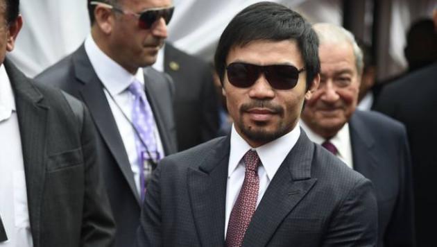 Мэнни Пакьяо алдағы президент сайлауына түспек