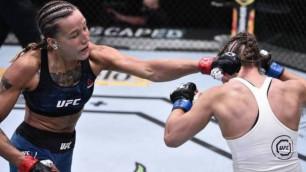 Бірінші раундтан асырмады. Қазақстандық файтер қыздың UFC-дегі алғашқы жекпе-жегінің видеосы