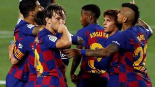 """""""Барселона"""" Испания чемпионатында көш бастады"""