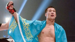 """Қазақ файтер UFC-дің """"Жекпе-жек аралындағы"""" турнирден шығып қалды"""