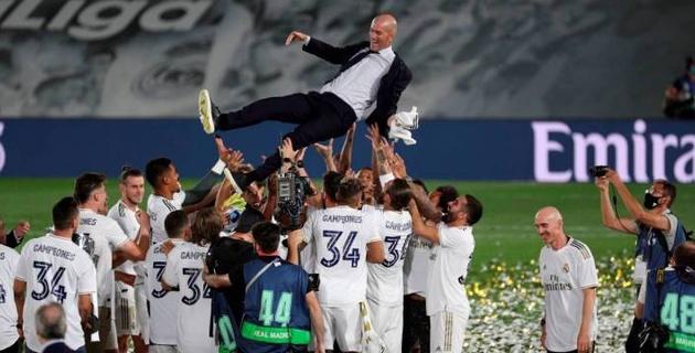"""Зидан """"Реал"""" тарихындағы ең мықты бапкер болды"""