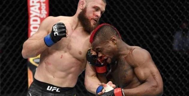 Қазақстанда дүниеге келген спортшы UFC ұйымында қатарынан екінші рет жеңіске жетті