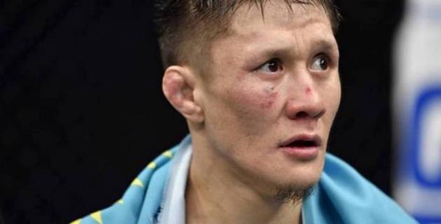 Жұмағұлов UFC ұйымындағы бірінші кездесуінен кейін бір ай жекпе-жек өткізе алмайды