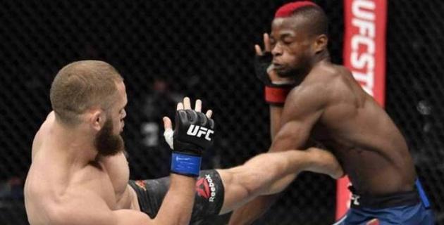 Қазақстан тумасы UFC-дегі қатарынан екінші жеңісінен кейін балдақпен жүр
