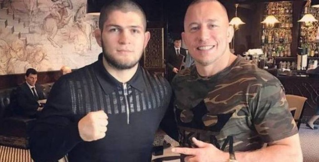 Нурмагомедов карьерасындағы соңғы кездесуін Сен-Пьерға қарсы өткізуі мүмкін - UFC президенті