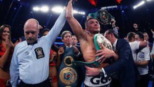 Головкин табысты боксшылардың тізімінде екінші орынға шықты
