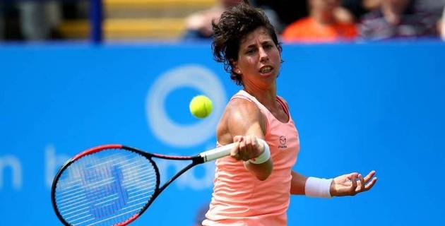 Испаниялық теннисші қыз ракпен ауыратынын хабарлады