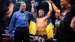 Головкинге есе жіберген Деревянченко әлем чемпионын нокаутпен жеңбек