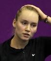 Рыбакина Римдегі турнирдің бірінші айналымында Ресейдің ең үздік теннисшісін жеңді