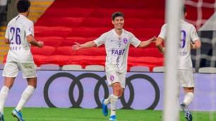 Қазақстандық футболшы азиялық Чемпиондар лигасында Хавидің командасына гол салды