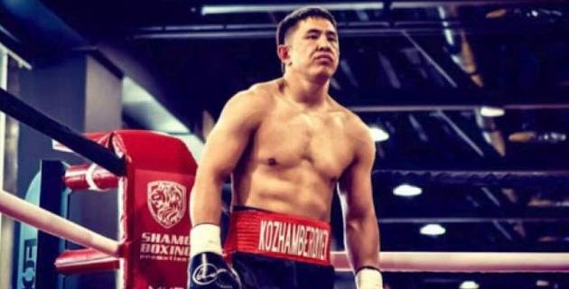 Ауыр салмақтағы қазақ боксшы WBC және WBA титулдары үшін жекпе-жекте өзбекті нокаутпен жеңді