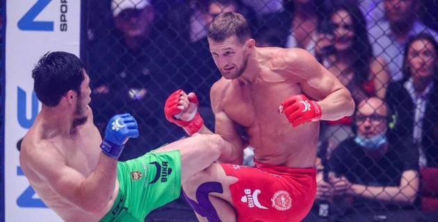 """""""UFC-ге шыққым келеді, бірақ, допинг қолданатындарды алмайды"""". Ермековты нокаутпен жеңген FNG чемпионы"""