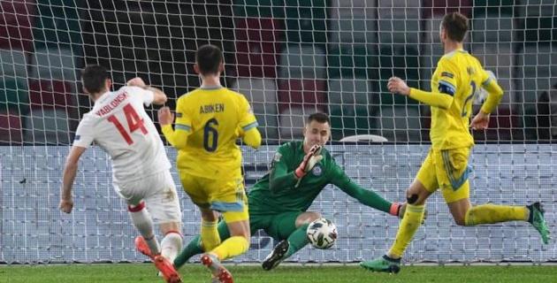 Мойындау керек, қазақтар мықты ойнай бастады - Ұлттар лигасында гол салған белоруссиялық футболшы