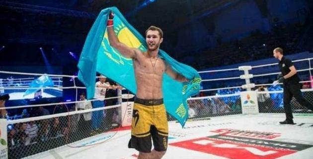 Хабибтің інісімен жұдырықтасу керек болған қазақсандық спортшы UFC турнирі алдында мәлімдеме жасады