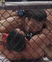 Шавкат Рахмоновтың UFC-дегі бірінші жеңісінің видеосы