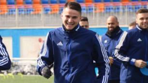 Қазақстандық футболшының клубы Армения чемпионатындағы матчте жеңіске жетті