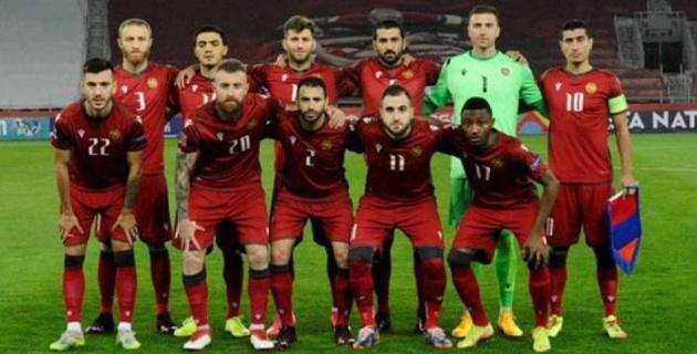 Армения құрамасының төрт футболшысы коронавирус жұқтырып алды