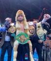 Жеңілмеген қазақ боксшы үш титул үшін жекпе-жекте африкалық нокаутшыны берілуге мәжбүр етті