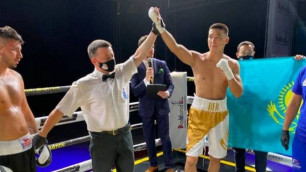 22 жастағы қазақ боксшы 26 қарсыласын сұлатқан боксшыны нокаутпен жеңді